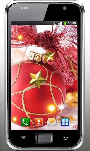 Скачать 2014 Новый год живые обои для Андроид
