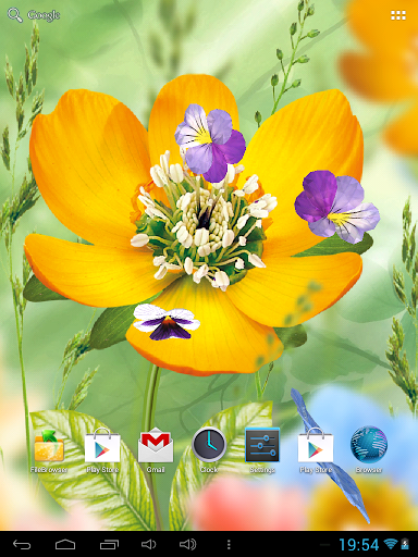 Скачать 3D Цветы Живые Обои для Андроид