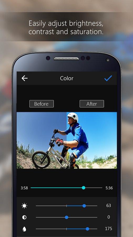 Скачать ActionDirector Video Editor для Андроид