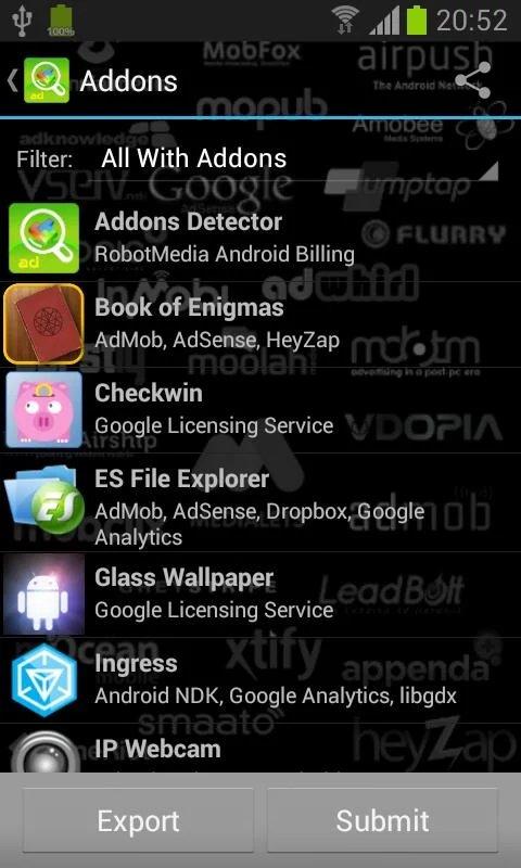 Скачать Addons Detector для Андроид