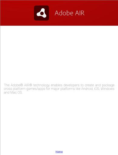 Скачать Adobe Air для Андроид