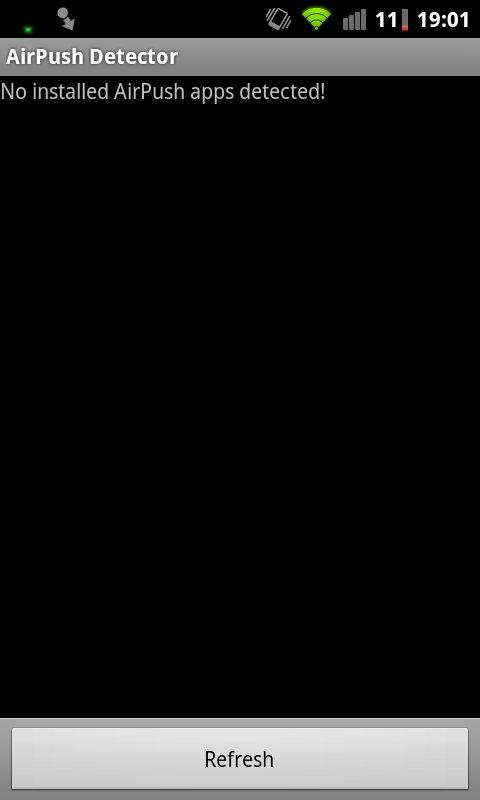 Скачать AirPush Detector для Андроид