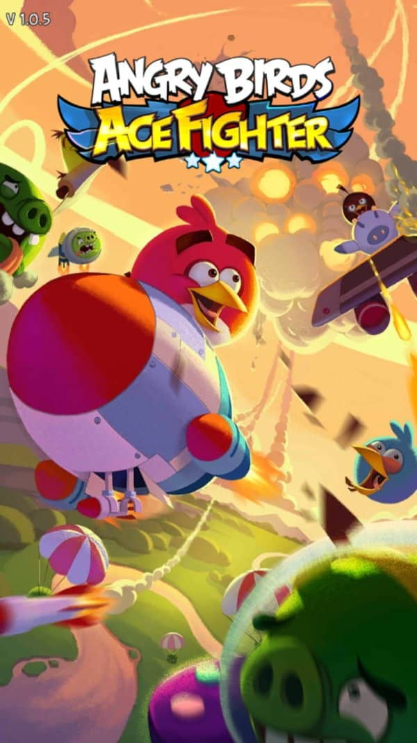 Скачать Angry birds: Ace fighter для Андроид