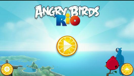 Скачать Angry Birds Rio для Андроид