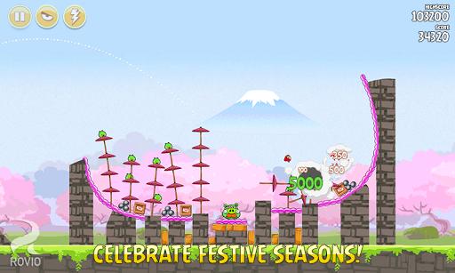 Скачать Angry Birds Seasons для Андроид