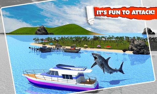 Скачать Angry Shark Simulator 3D для Андроид