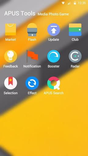 Скачать APUS Launcher для Андроид