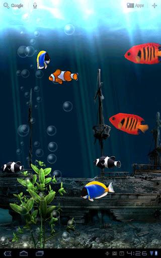 Скачать Aquarium Free LWP для Андроид