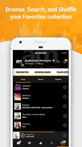 Скачать Audiomack для Андроид