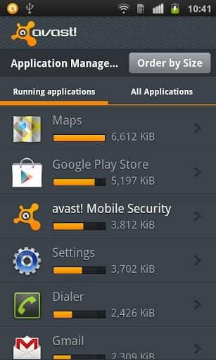 Скачать Avast! Mobile Security для Андроид