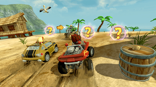 Скачать Beach Buggy Racing для Андроид
