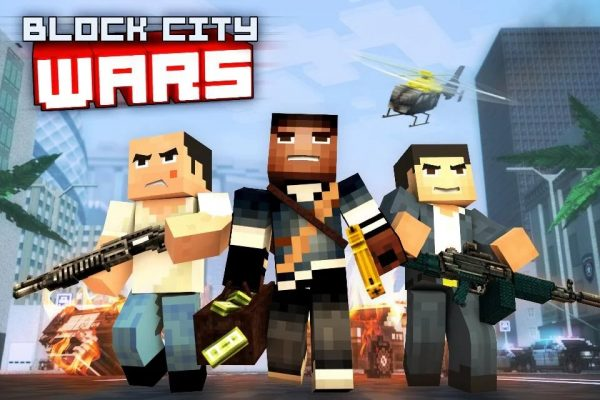 Скачать Block City Wars для Андроид