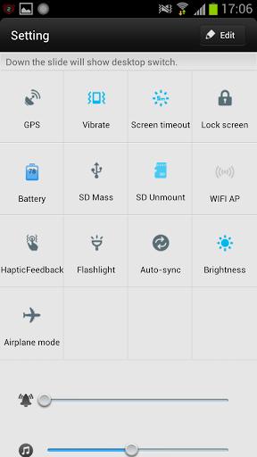 Скачать Blue Light Toucher Theme GO для Андроид