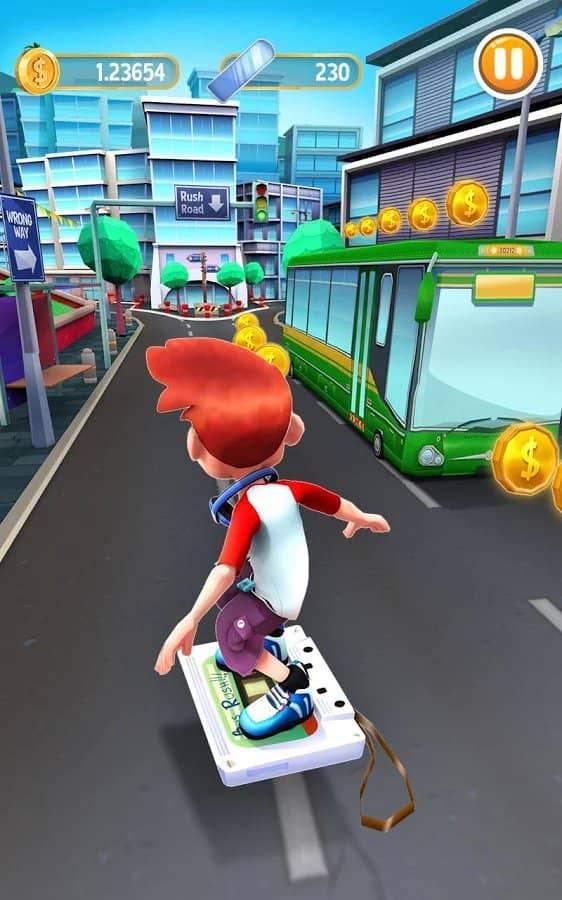 Скачать Bus rush 2 для Андроид