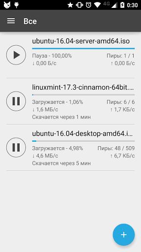 Скачать CatTorrent Торрент Клиент для Андроид