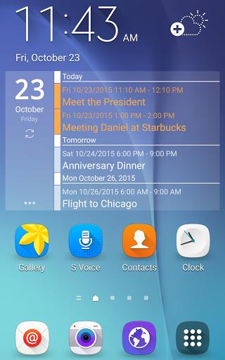 Скачать Clean Calendar Widget для Андроид