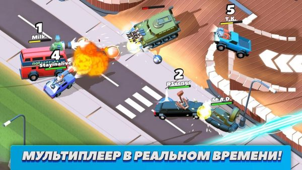 Скачать Crash of Cars для Андроид