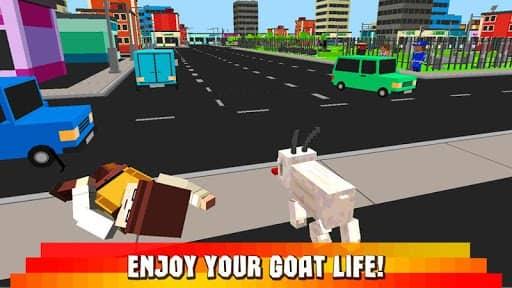Скачать Cube World: Blockhead Goat 3D для Андроид