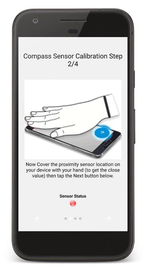 Скачать Датчик приближения: сброс для Андроид
