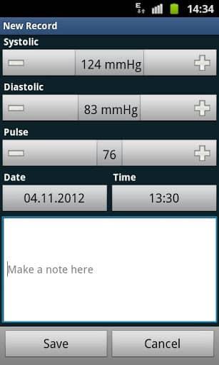 Скачать Дневник артериального давления / Blood Pressure Diary для Андроид