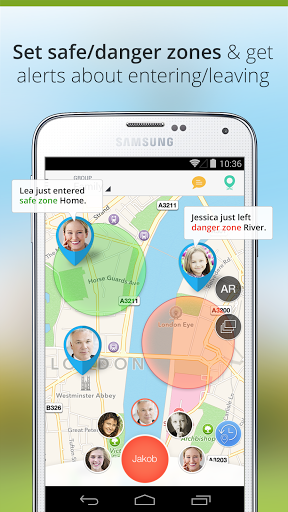 Family Locator — GPS Tracker для Андроид