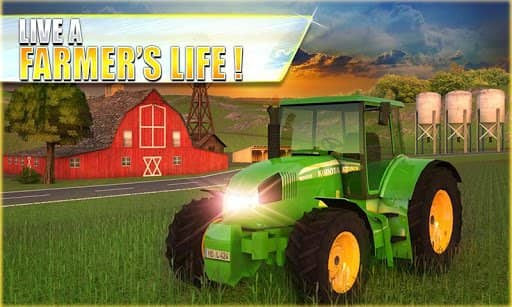 Скачать Farm Tractor Simulator 3D для Андроид