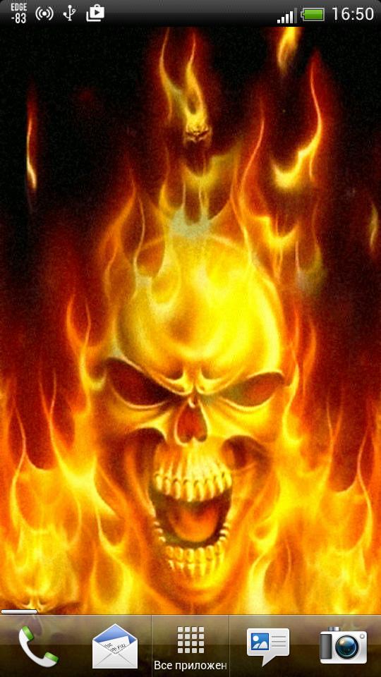 Скачать Fire Skull для Андроид