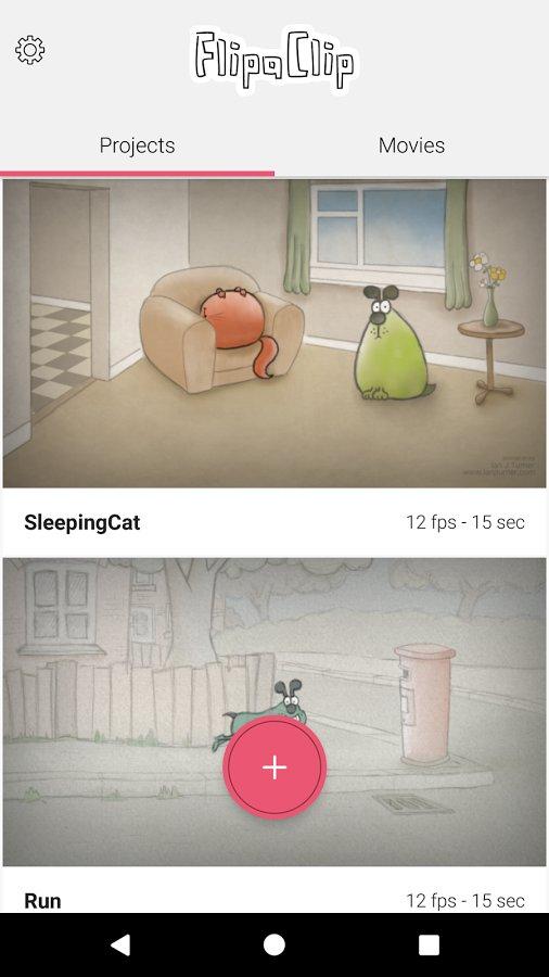 Скачать FlipaClip — Cartoon animation для Андроид