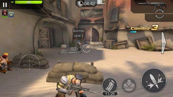 Скачать Frontline commando: Rivals для Андроид