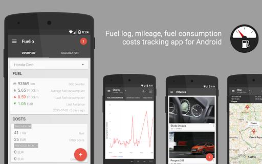 Скачать Fuelio: топливо и расходы для Андроид