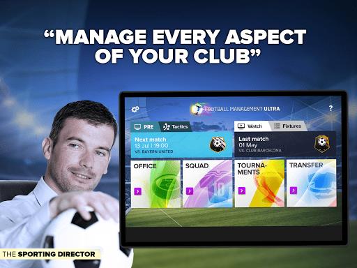 Скачать Футбольный менеджер FMU 2015 для Андроид