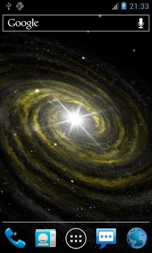 Скачать Галактика Свет Живые Обои / Galaxy Light Live Wallpaper для Андроид