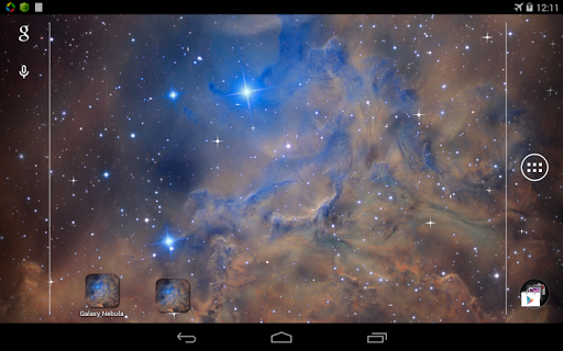 Скачать Galaxy Nebula Live Wallpaper для Андроид