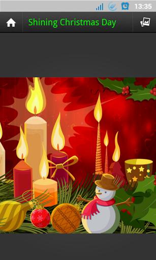 Скачать GALAXY S4 рождественские обои для Андроид