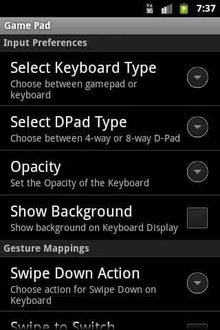 Скачать GamePad для Андроид