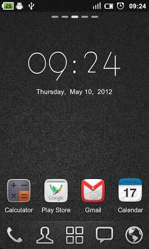 Скачать GO Clock Widget для Андроид