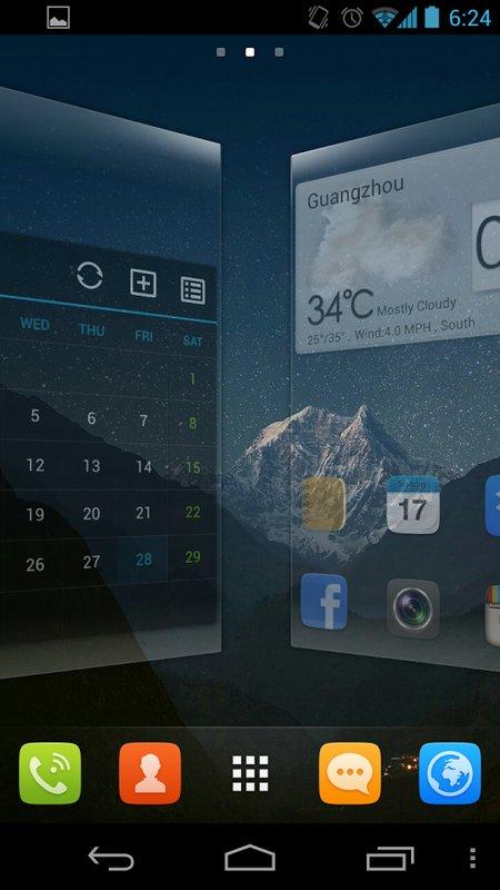Скачать GO launcher EX для Андроид