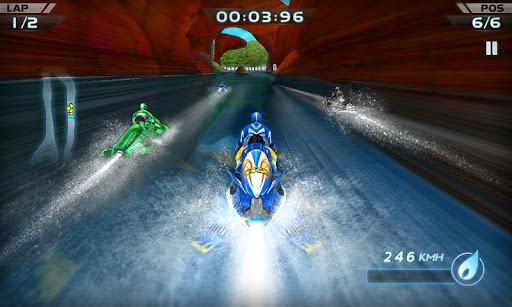 Скачать Гонки водных мотоциклов 3D для Андроид