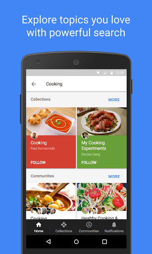 Скачать Google+ для Андроид