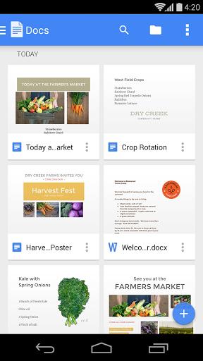 Скачать Google Документы для Андроид