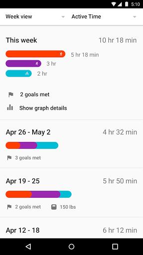 Скачать GoogleFit для Андроид