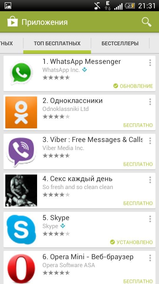 Google Play для Андроид
