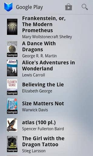 Скачать Google Play Книги для Андроид