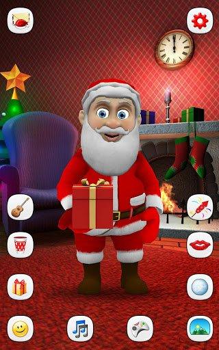 Скачать Говорящий Санта для Андроид