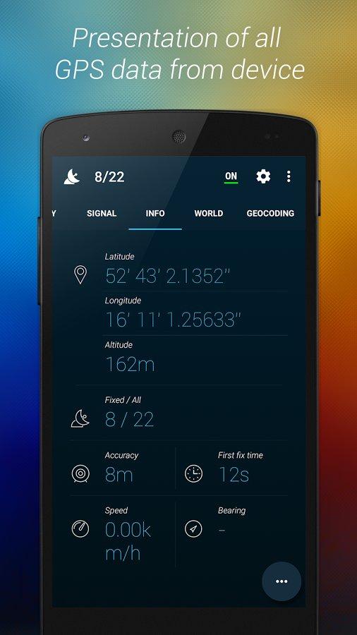 Скачать GPS Data+ для Андроид