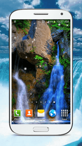 Скачать HD Waterfall Live Wallpaper для Андроид