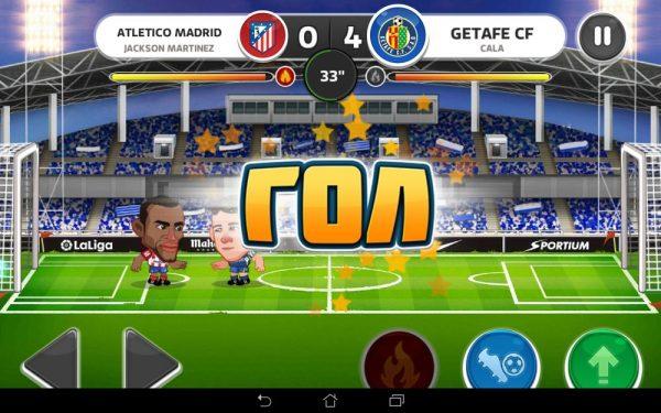 Скачать Head Soccer для Андроид