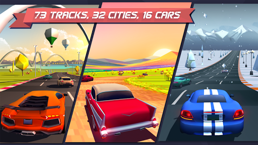 Скачать Horizon Chase — World Tour для Андроид
