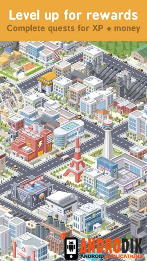 Скачать Pocket City — постройте свой уникальный город! для Андроид