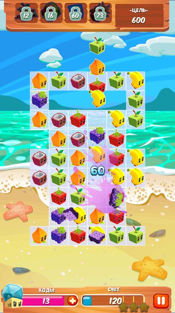 Скачать Juice Cubes для Андроид